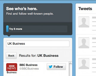 Choosing who to Follow on Twitter